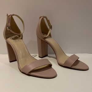 Vince Camuto Heels Size 9 Open Toe Ankle Strap